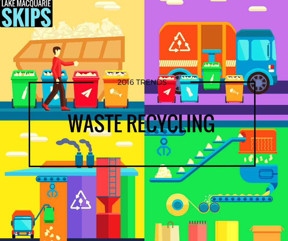 waste recycling trends in 2016