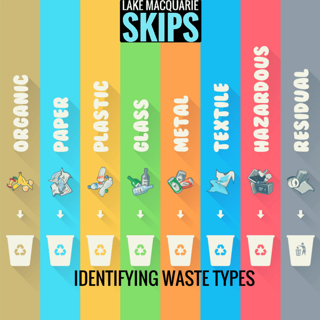identifying waste types: what you can and cannot put in your lake macquarie skip bins