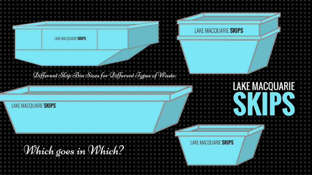 Different Skip Bin Sizes for Different Types of Waste: Which goes in Which?
