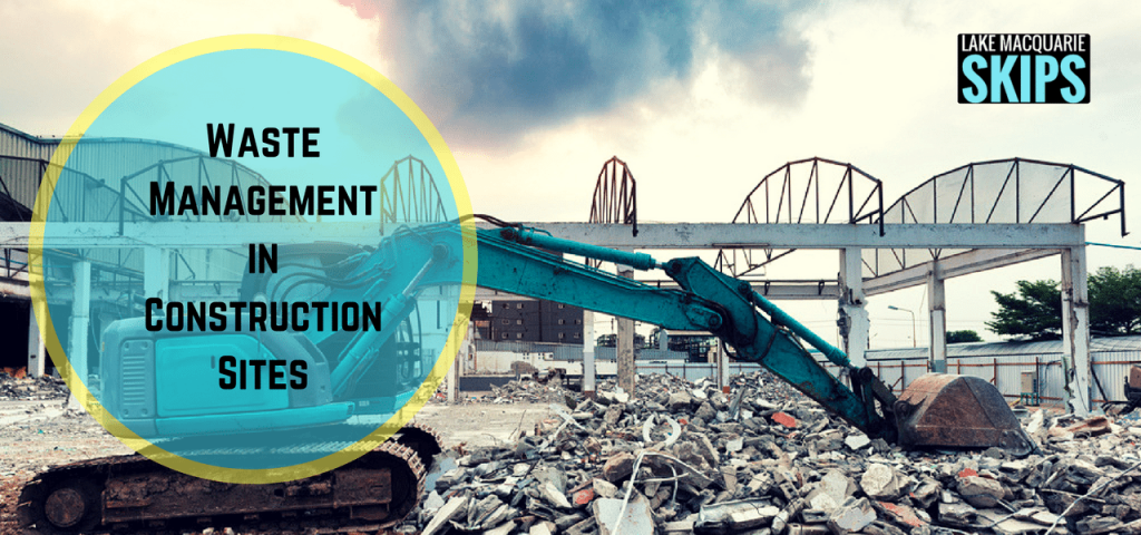 waste management in construction sites
