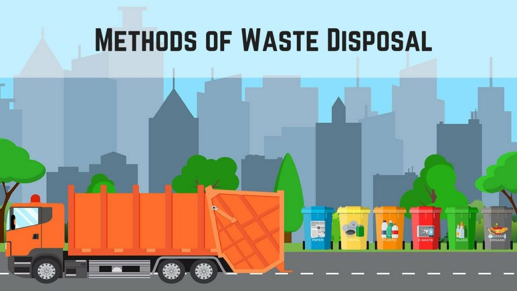 what are the methods of waste disposal?