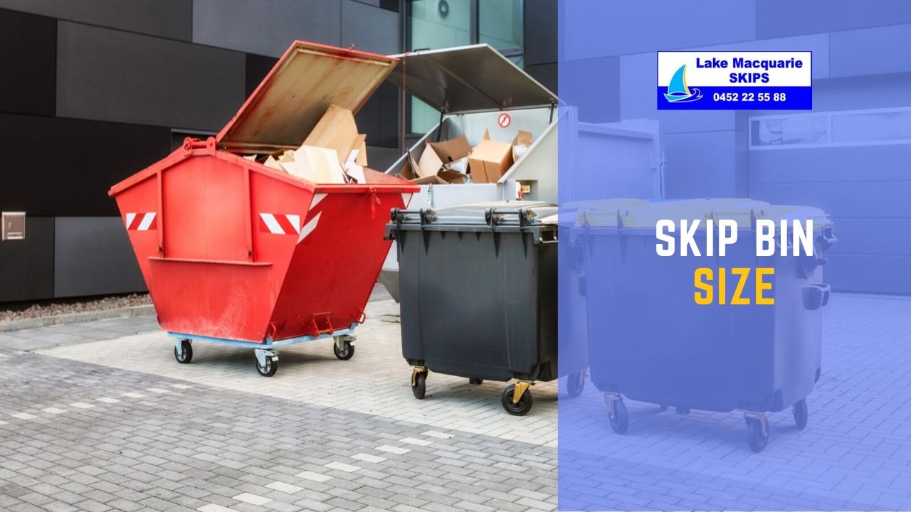 Skip bin size